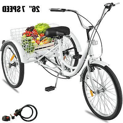 adult tricycle 26 wheel 7 speed 3