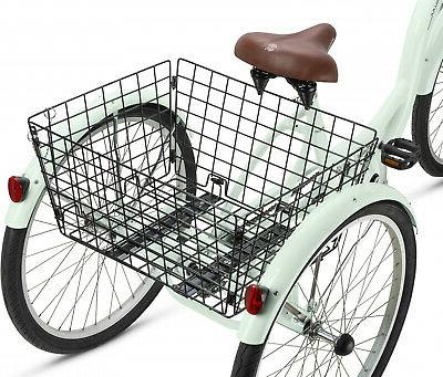 Adult Tricycle Bicycle 3 Tire Seat Speed WHEEL CRUISER BIKE