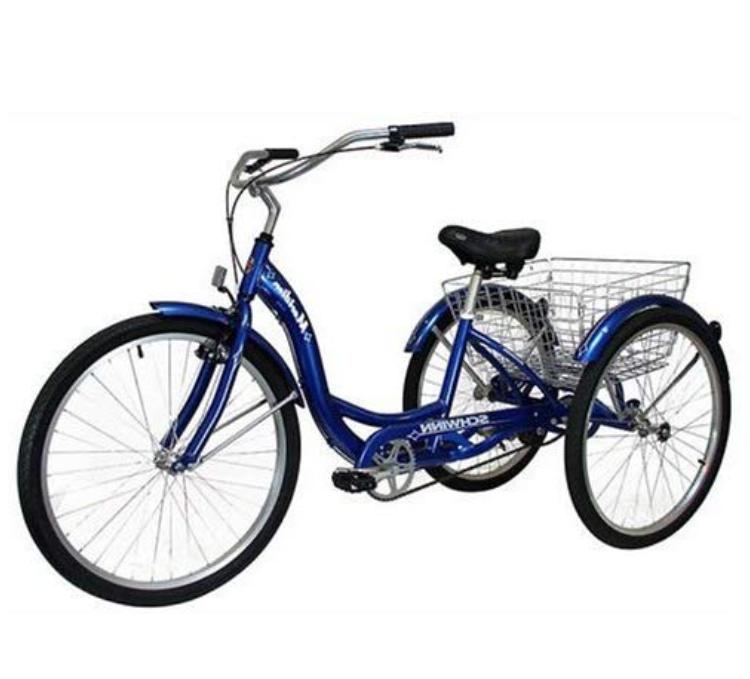 adult tricycle bike 26 3 wheel bicycle