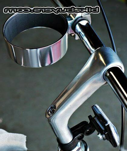 Fito Aluminum Alloy Cup Drink Holder Cruiser Bicycle SIL