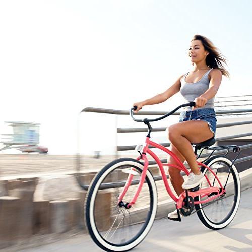 "sixthreezero Around Women's Bicycle, w/ Seat/Grips, 26"""