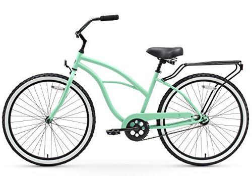 "sixthreezero Around Women's Bicycle, Mint w/ Black 26"" Wheels/17"" Frame"