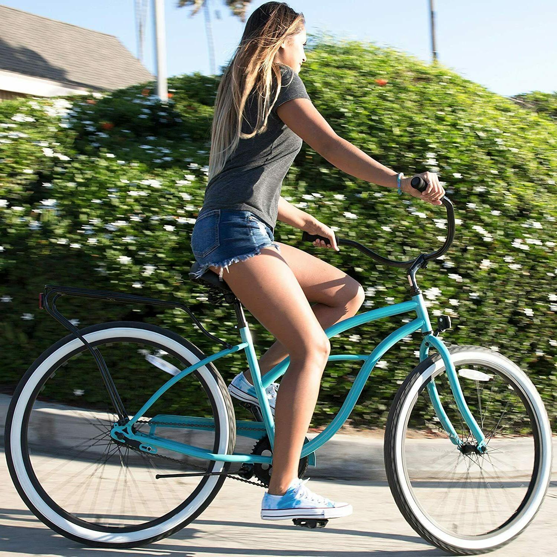 sixthreezero Block Women's Cruiser Bicycle Teal