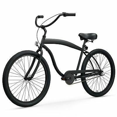 barrel beach cruiser bicycle