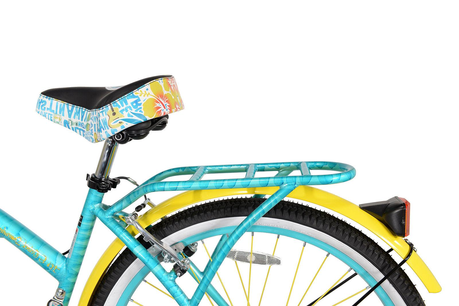BCA Women's, Margaritaville Multi-Speed Cruiser Bike, Teal