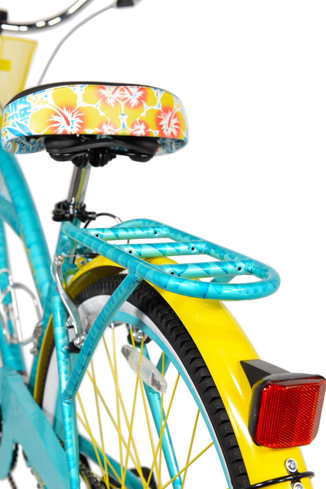 BCA Women's, Multi-Speed Cruiser Bike, Teal