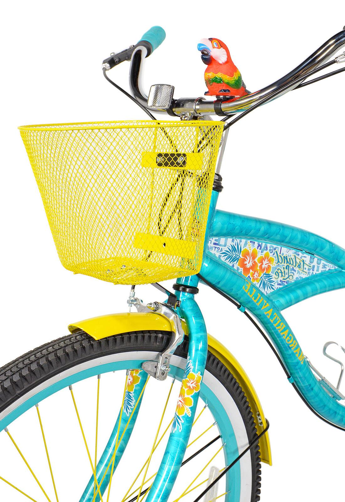 "BCA 26"" Multi-Speed Cruiser Bike, Teal"