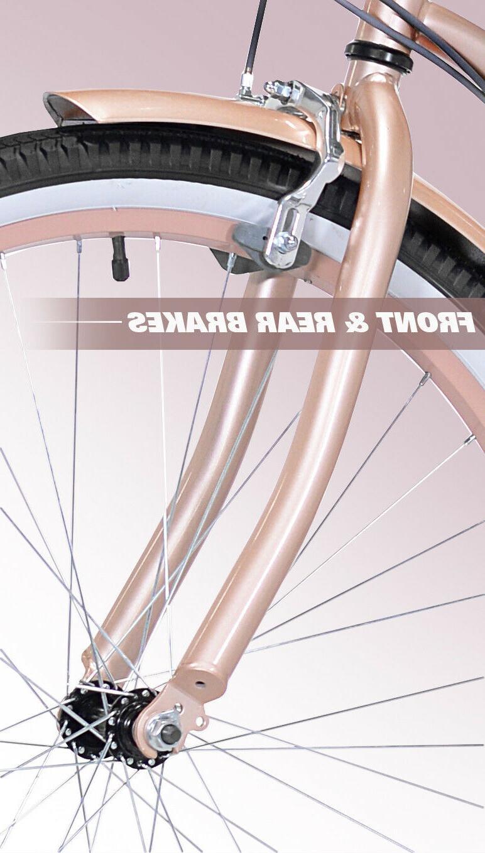 Kent Cruiser Bike, Rose Gold