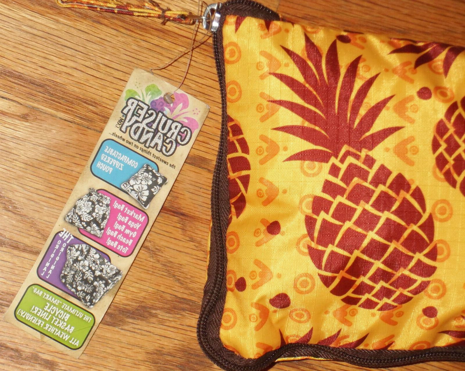 CRUISER BASKET LINER~Pineapples~Compact/Convertible/Fits All