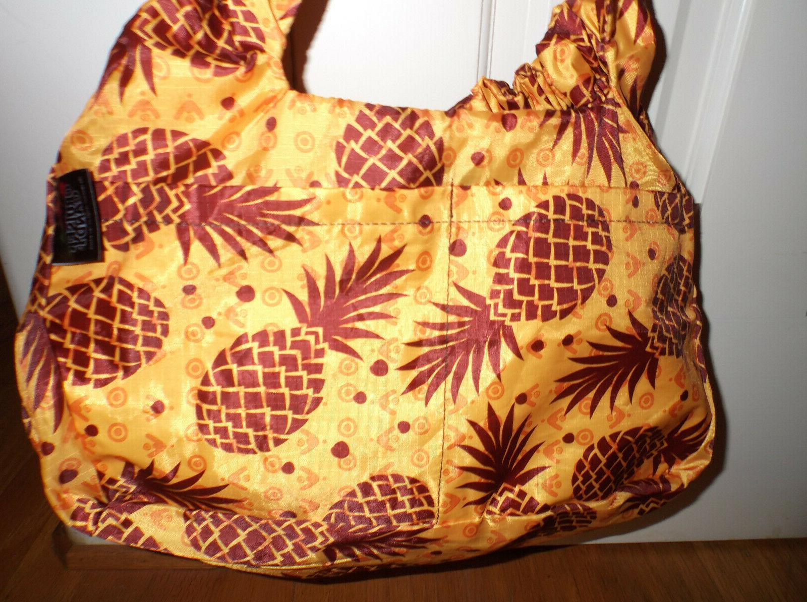 CRUISER CANDY LINER~Pineapples~Compact/Convertible/Fits All NWT