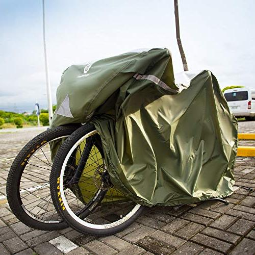 YardStash Extra Beach Mountain Bike Cover, Bike Multiple Bike Cover and Cover for Bikes with Child Seats or