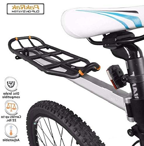 bicycle rear seat mount carrier