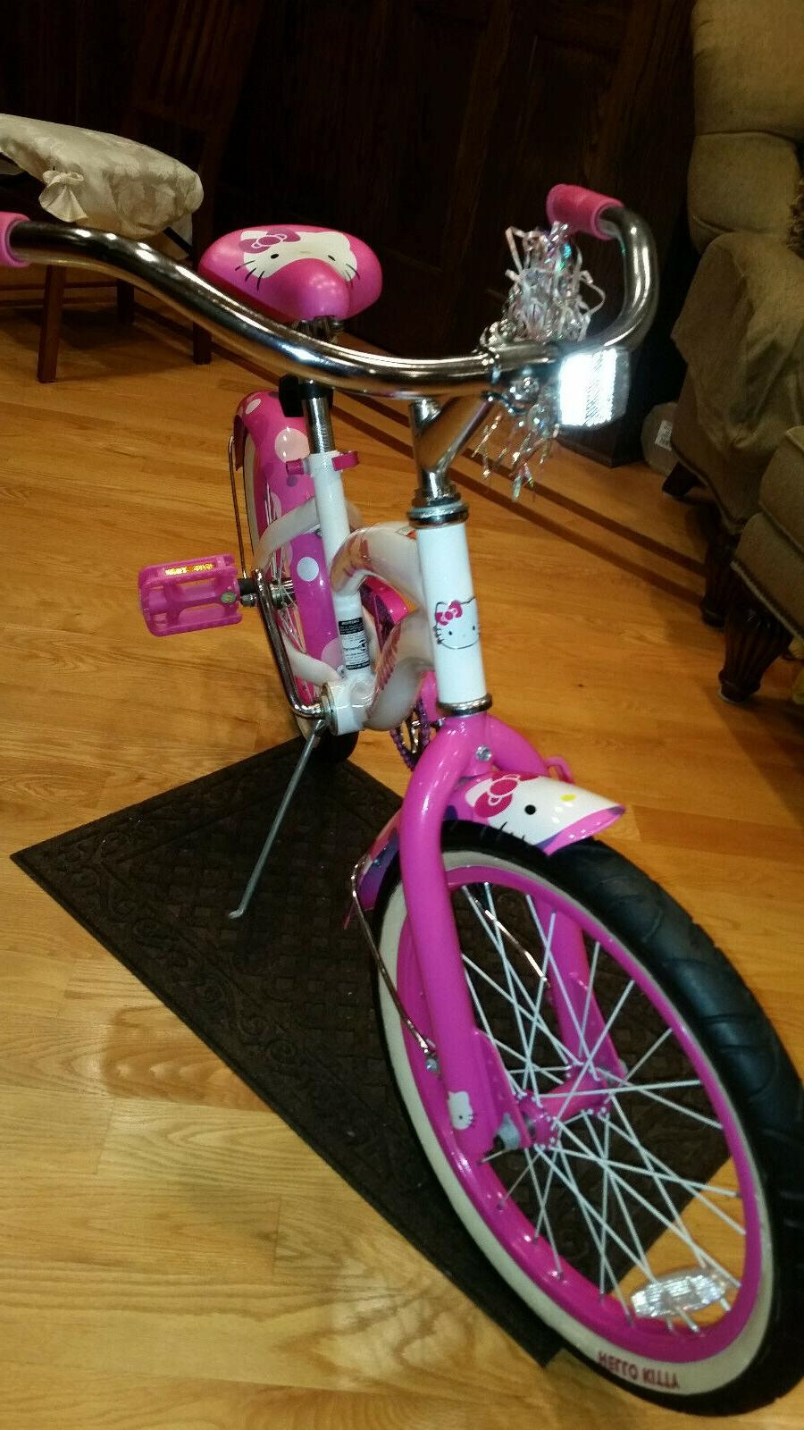 HELLO KITTY Girl's Sanrio Licensed Bicycle kids NEW