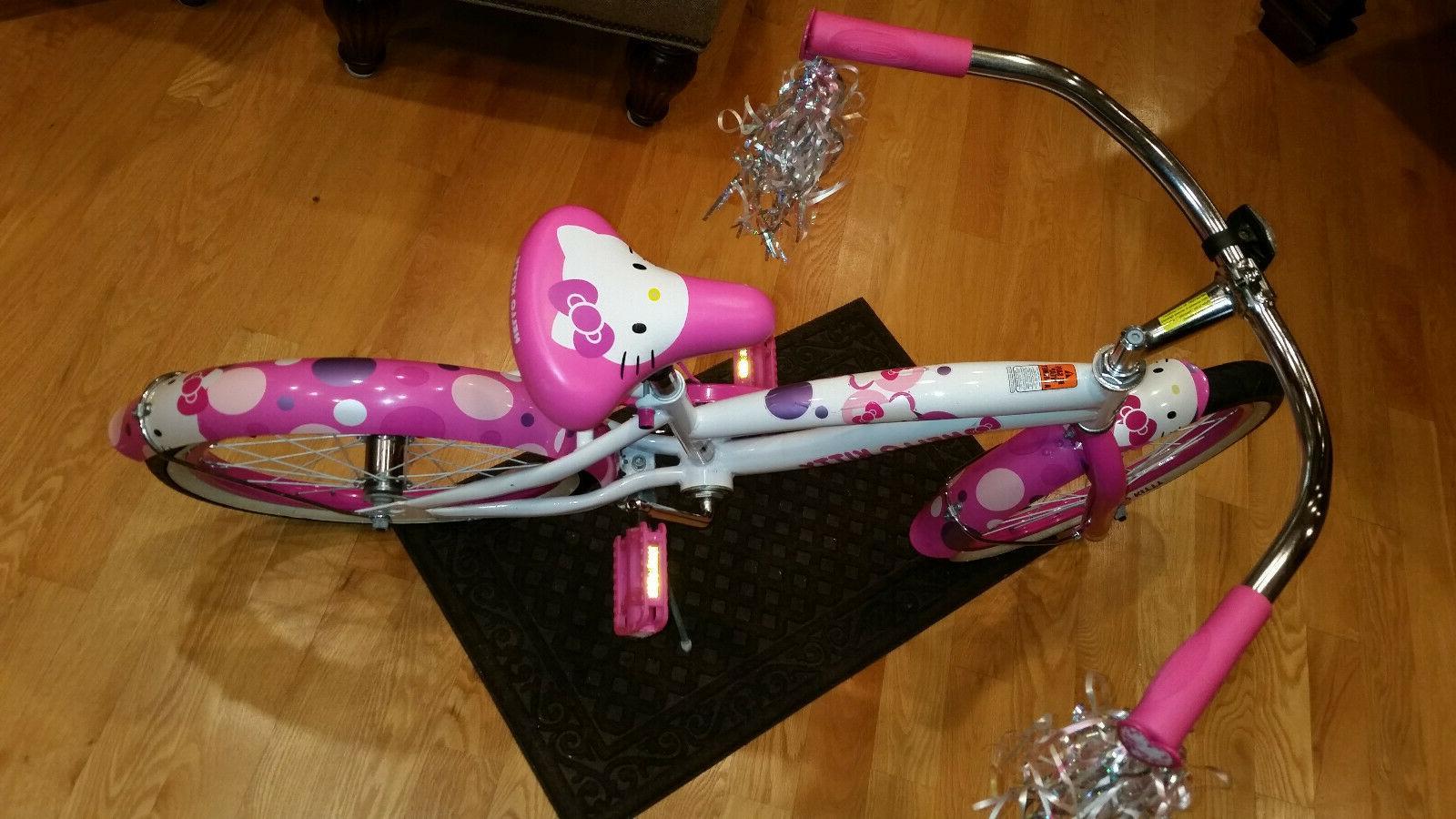 HELLO BIKE Girl's Licensed Bicycle NEW