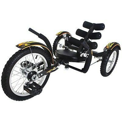 Mobo Kids BLACK Mobito Tricycle 3 Wheel Child Cruiser Bike