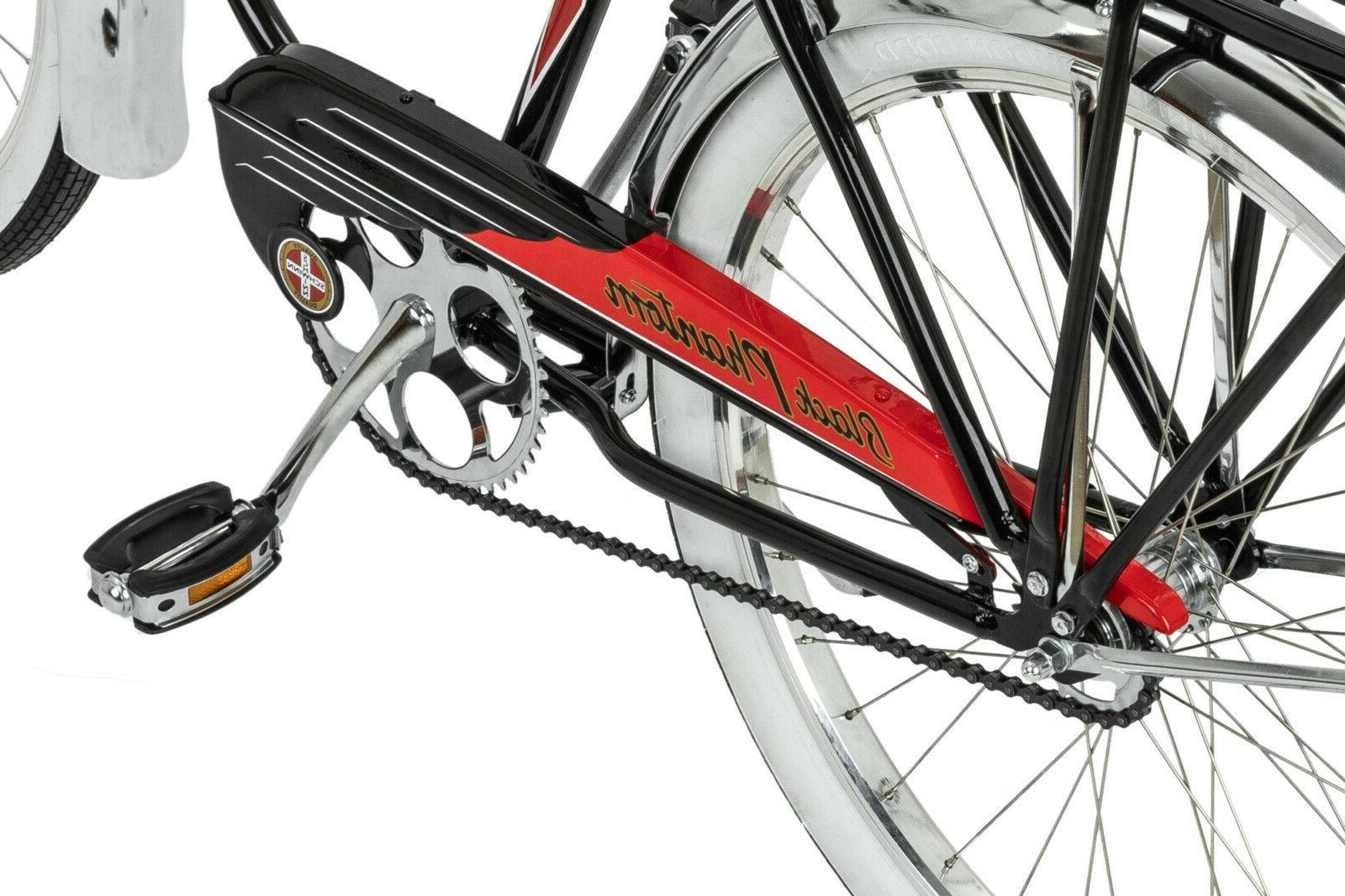 Schwinn Black Bike, single speed,