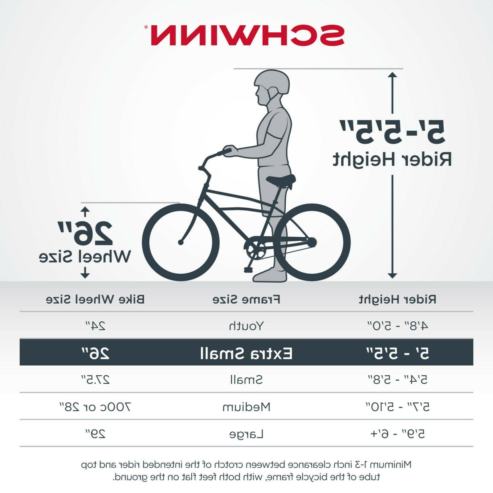 Schwinn Bike, single speed, wheels, black