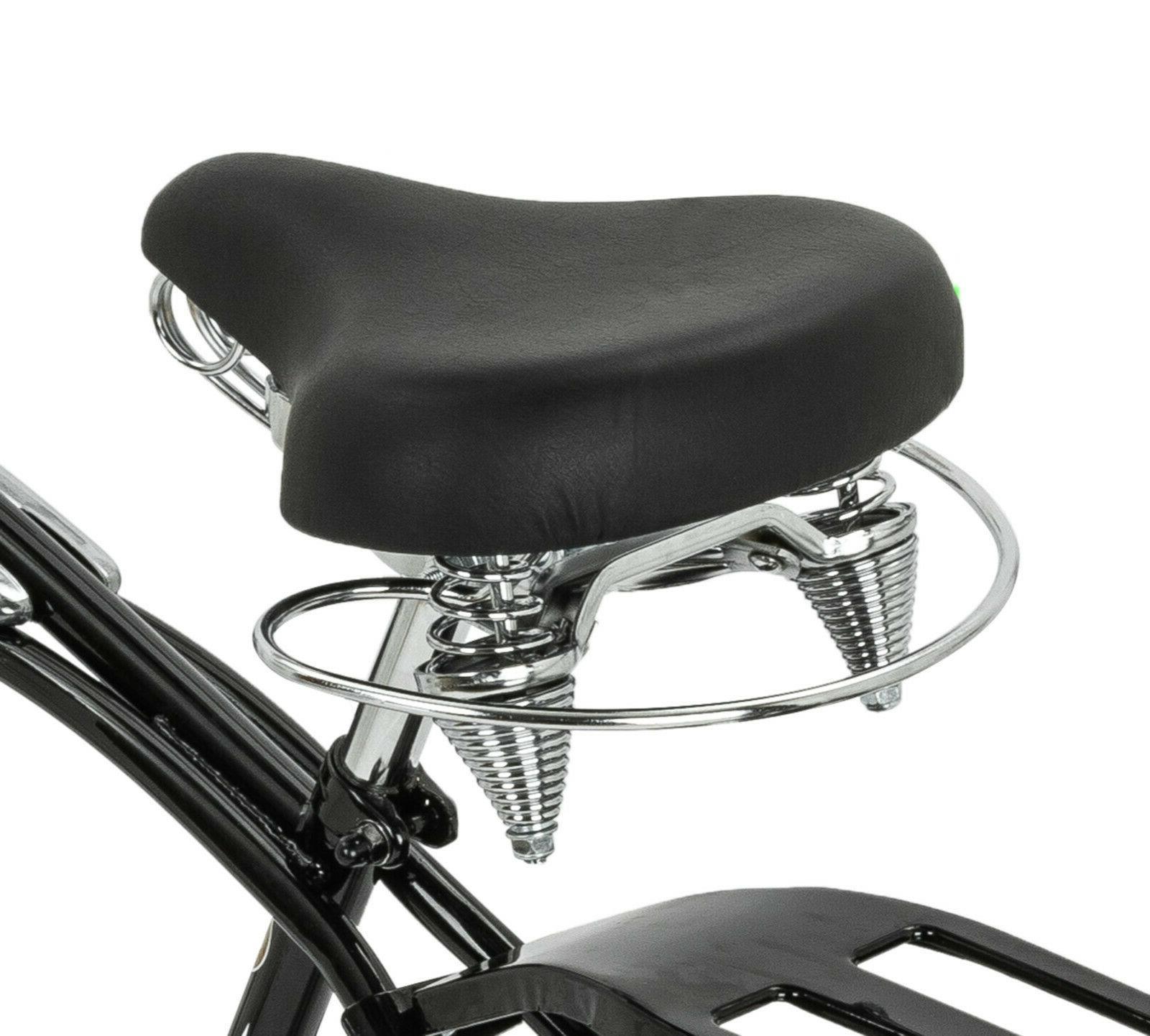 Schwinn Black Bike, wheels,