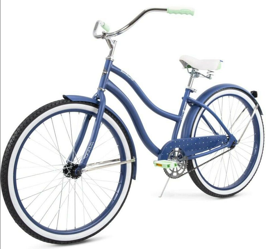 "Blue Cruiser Bike 26"" City Beach New!"