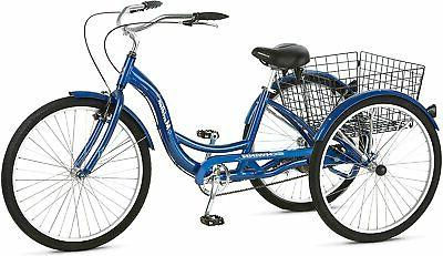 blue meridian 3 wheel bike