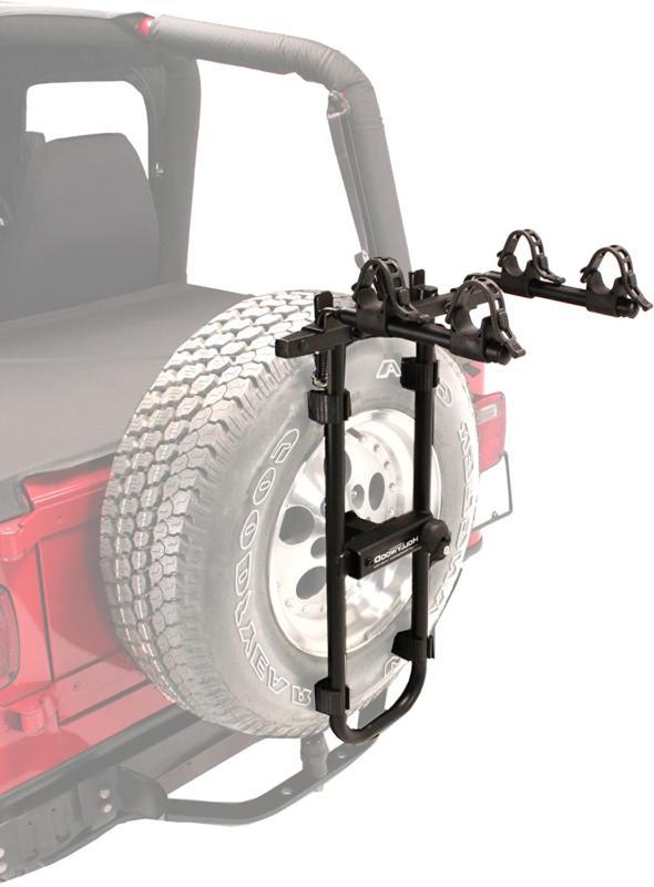 bolt on spare tire rack