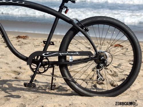 Speed Cruiser Bicycle, 26-Inch, Black