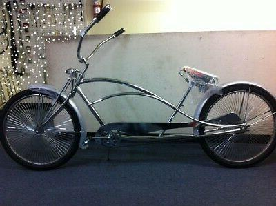 chrome 26 limo stretch beach cruiser bike