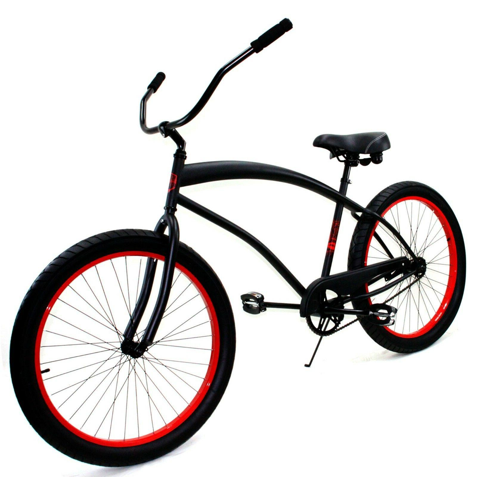 cobra classic 26 beach cruiser bike black