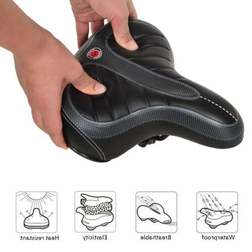 Bicycle Saddle Wide Soft Outdoor