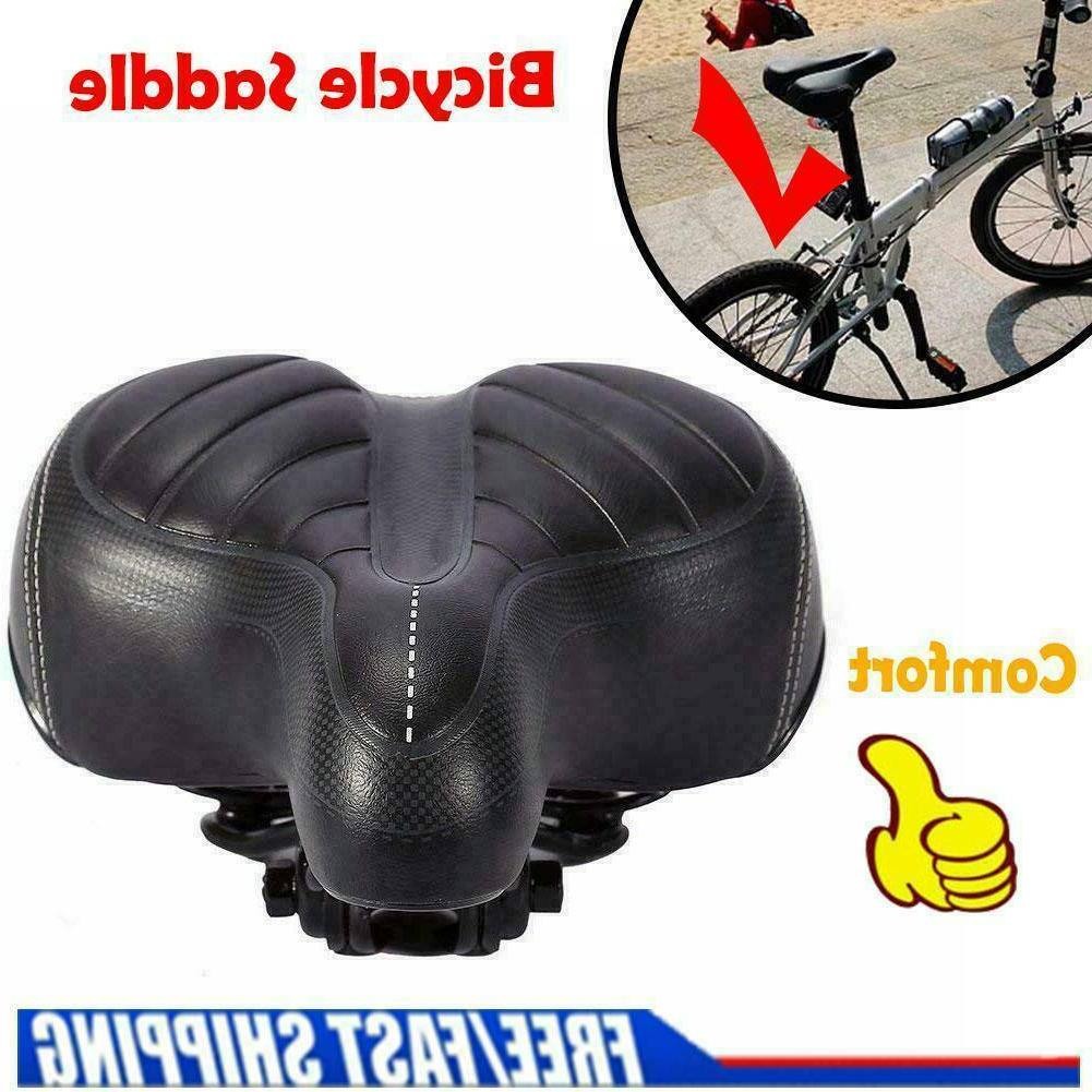 Comfort Wide Big Bum Bike Bicycle Gel Cruiser Extra HOT Soft