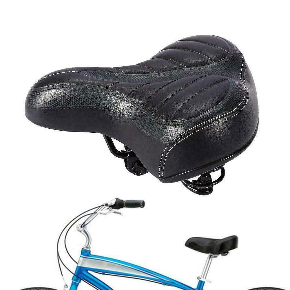 Wide Big Bum Comfort Bike Gel Cruiser Extra Sporty Soft Sadd