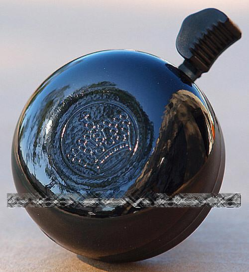 crown bicycle bell black for beach cruiser