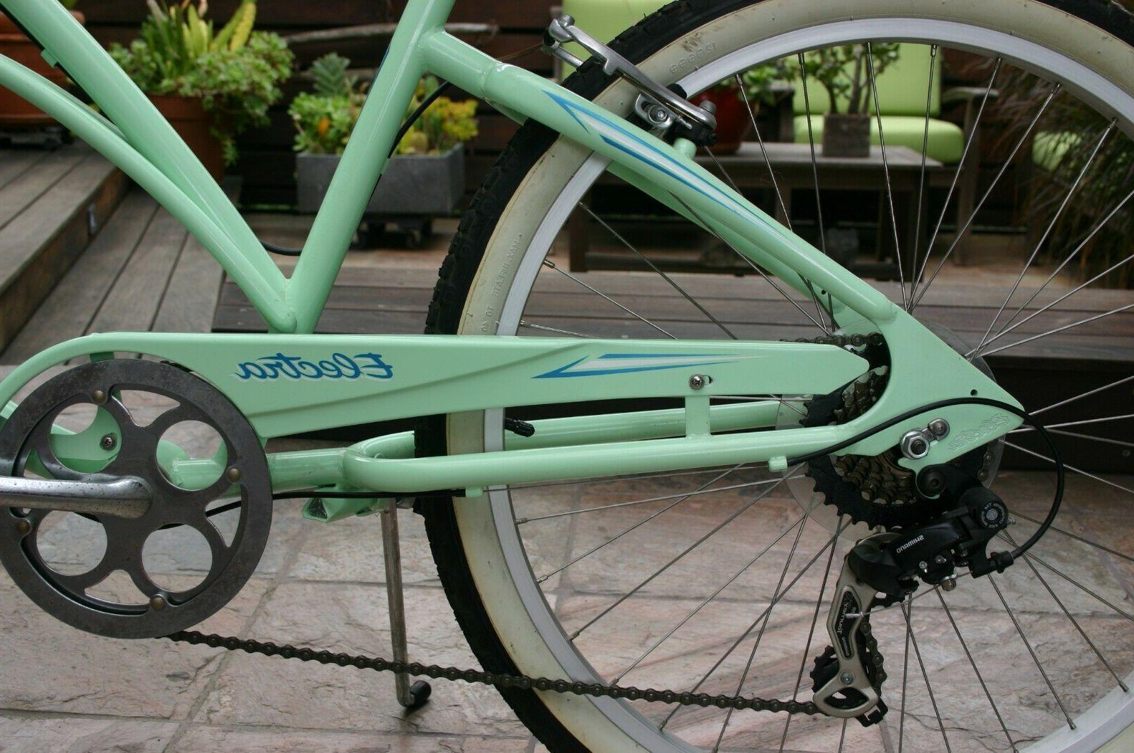ELECTRA Beach Cruiser Bike Green