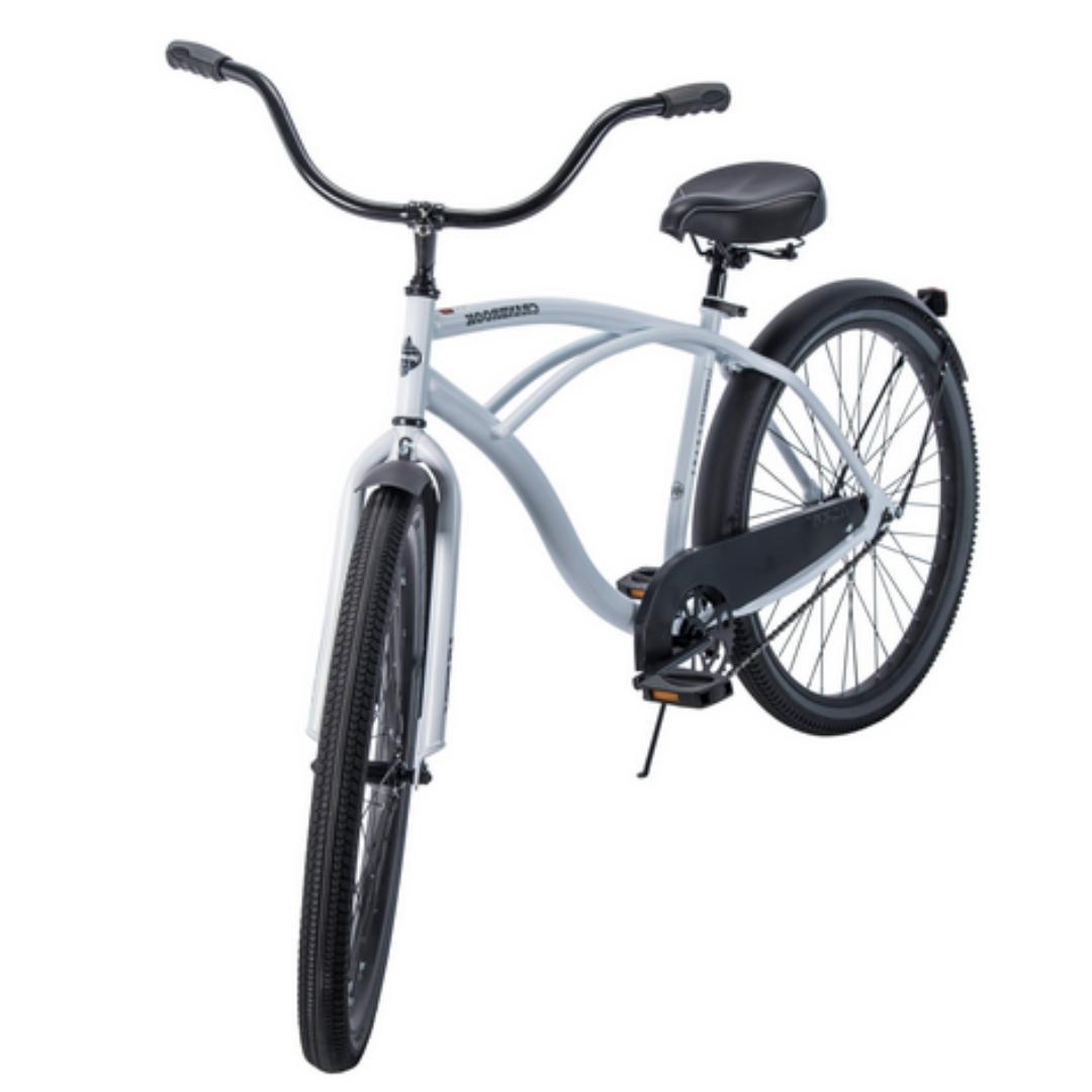 CRUISER BICYCLE Inch Beach White Comfort Bike Speed