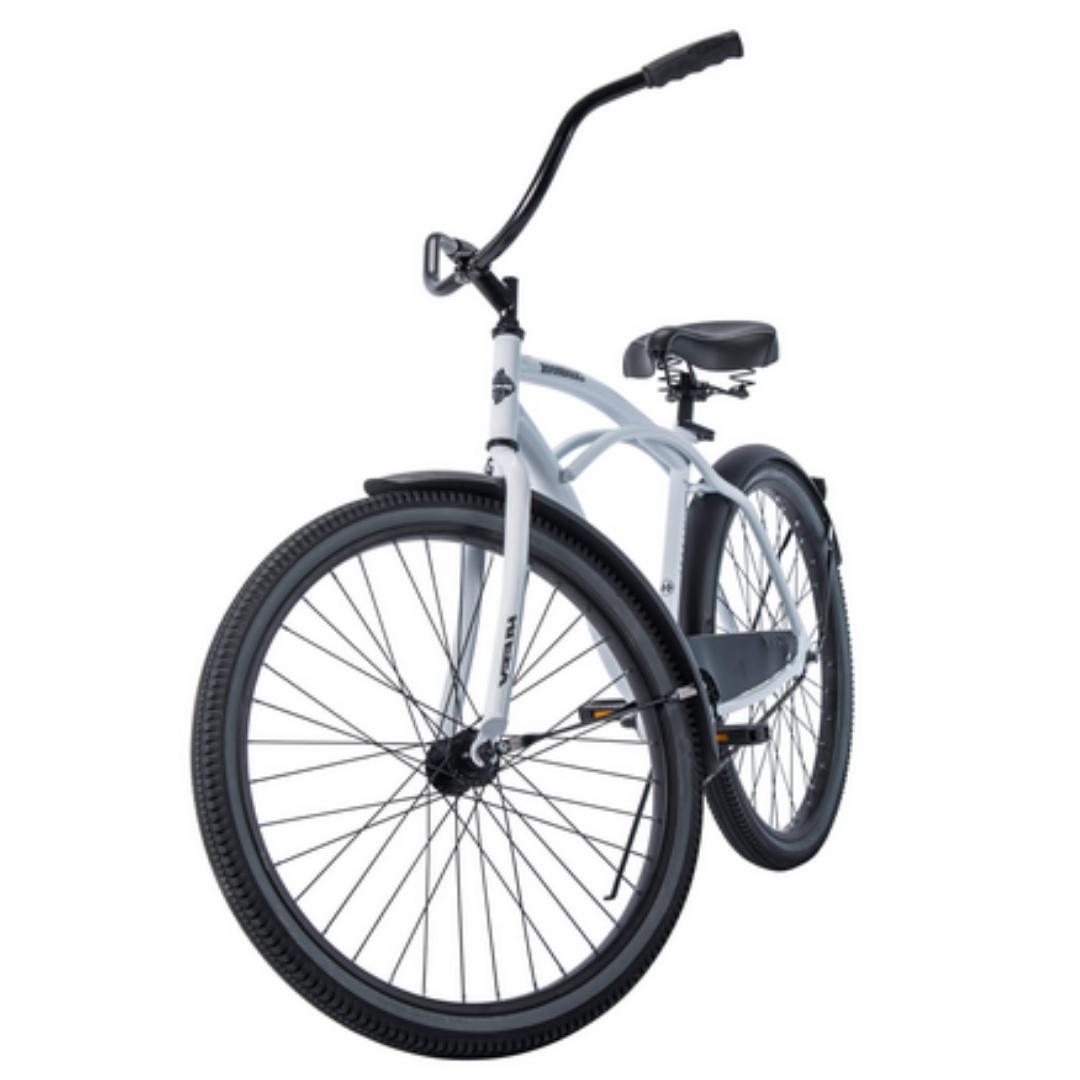 CRUISER BICYCLE Inch Beach White Bike Speed