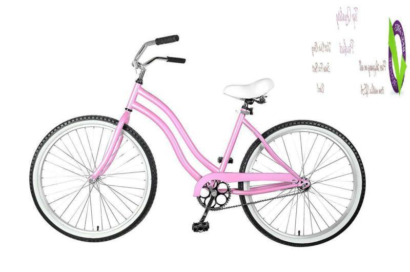 cruiser bike 26 inch wheels 18 inch