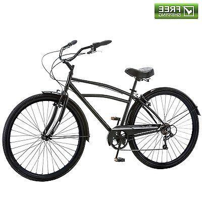 cruiser bike 29 black comfort men s