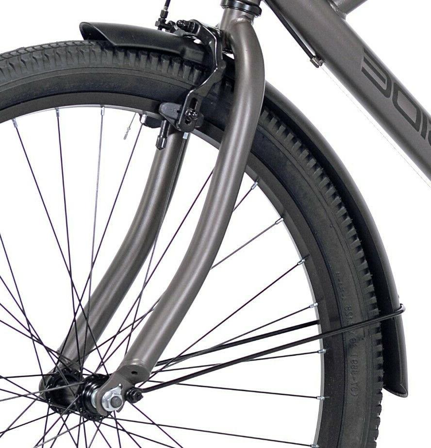 "Kent Cruiser Men 26"" Gray City Bicycle New!"