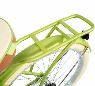 """Huffy 26"""" Green Comfort Bicycle Rear New!"""