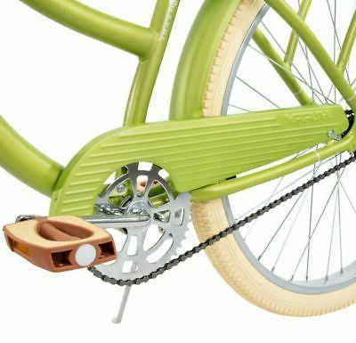 "Huffy Cruiser Bike 26"" Green Beach City New!"