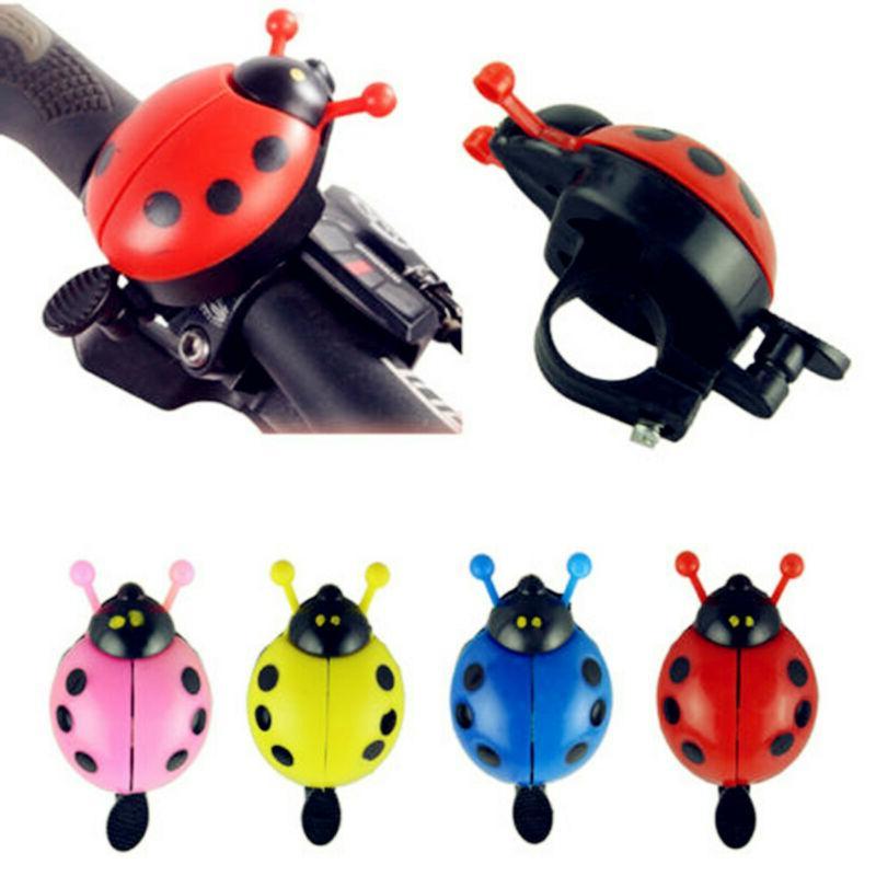 Cute LadyBug Bicycle Bell Ring Cruiser Kids Bike Vintage Han