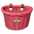 Nantucket Bicycle Basket Co. Cruiser Adult D-shape Basket, P