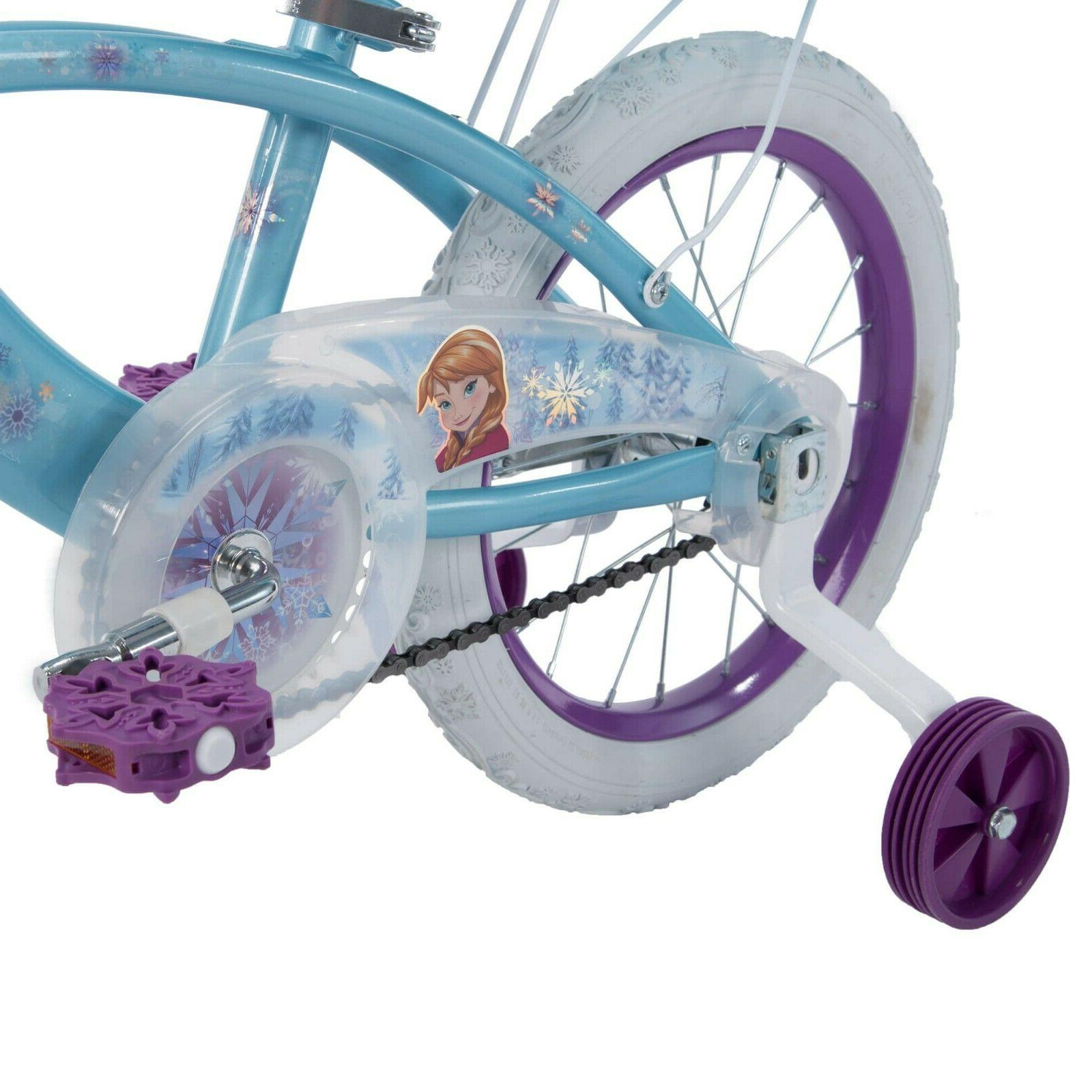 "Disney Frozen 16"" EZ Build Sleigh Doll Huffy bicycle"
