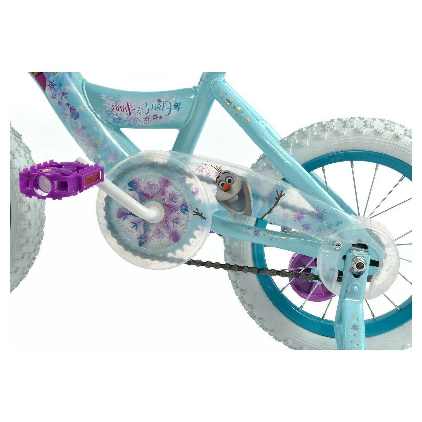 "Huffy Disney Frozen Bike Sleigh - 14"", 3 yrs"