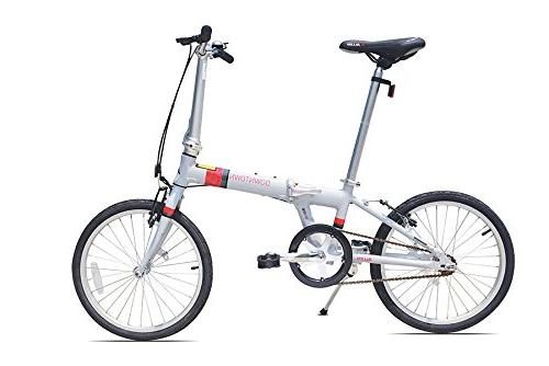 downtown aluminum folding bicycle