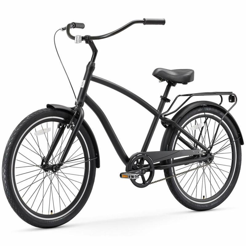 "Sixthreezero Evryjourney Men'S Hybrid Cruiser Bicycle, 26"" W"