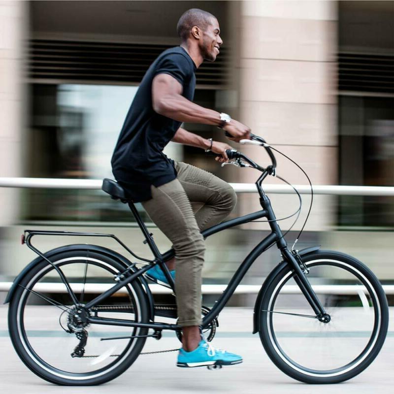 "Sixthreezero Men'S Hybrid Cruiser Bicycle, 19"" Frame"