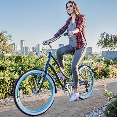 """sixthreezero EVRYjourney Women's Speed Cruiser Bicycle, 26"""""""