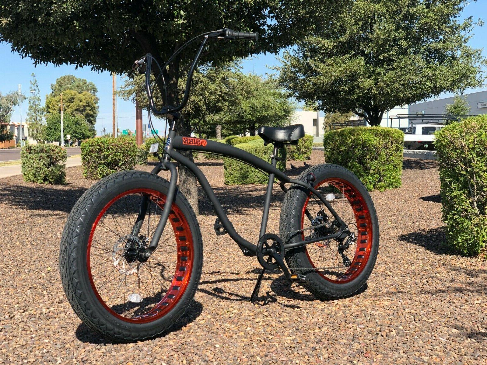 Fat Tire Bike w Copper - SPEED-CUTOUT