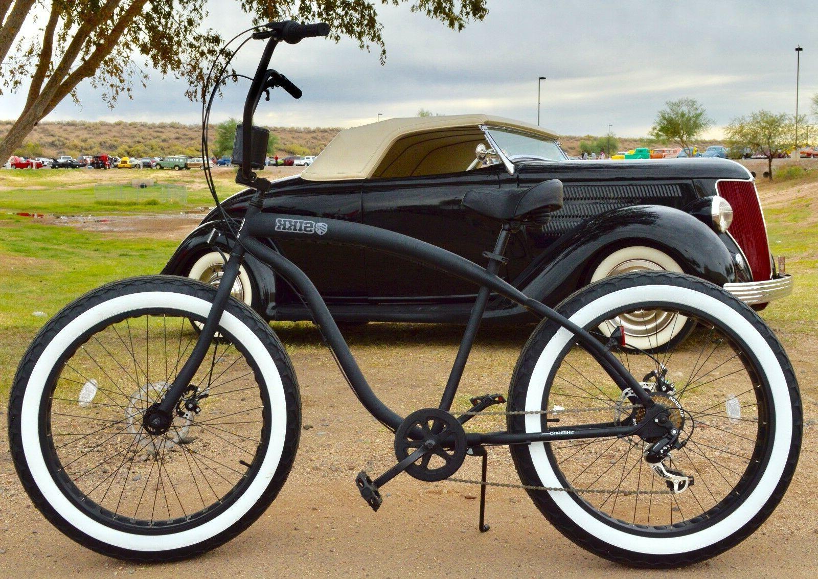 Fat Tire Beach Cruiser Bike ?? w WW Tires RIMS